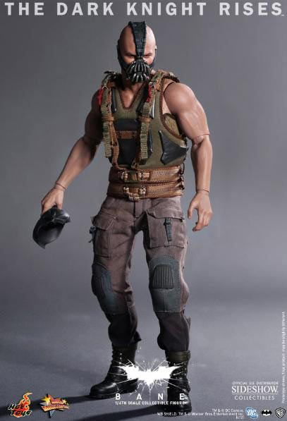 Figura Batman: The Dark knight Rises. Bane, 30 cms. Hot Toys