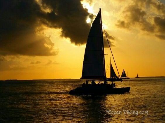 Sunset.  Key West, Florida Keys