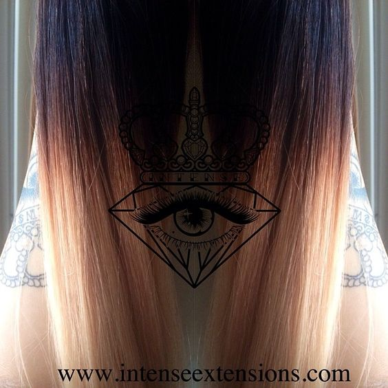 In love with ombre! ❤ available at www.intenseextensions.com