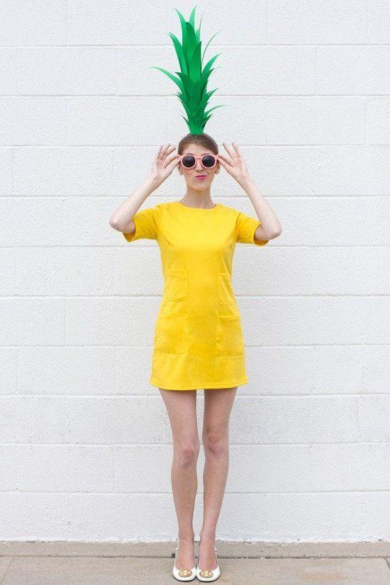modelos femininos de fantasia para o carnaval 2014 abacaxi: