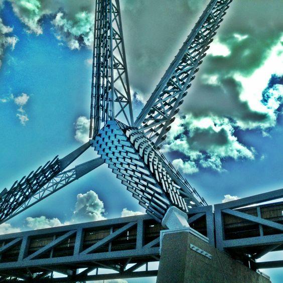 Sky Dance #Bridge #OKC