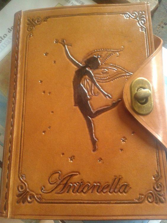 agenda cuaderno diario bitacora objetos de cuero