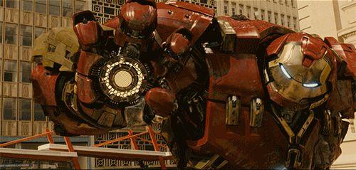 Avengers: Age Of Ultron. Iron man and Hulk