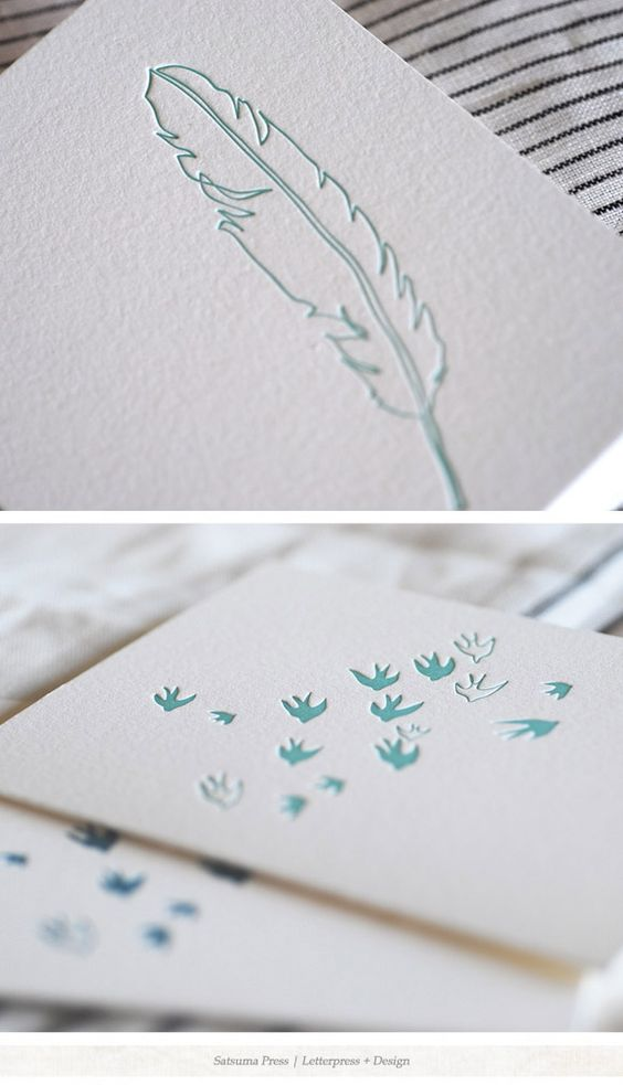 letterpress cards and paper goods from Satsuma Press Amazing