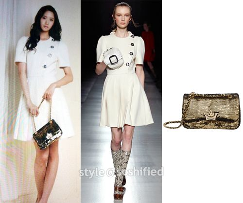 Rihanna x factor white dress yoona