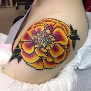 marigold tattoo - Google Search