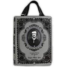 Edgar Allan Poe boek tas grijs - Gothic Fantasy