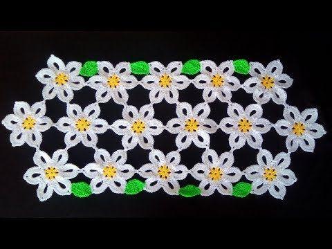 Centrino Uncinetto Facile Tutorial Doily Crochet Centro De Mesa Crochet Youtube Uncinetto Facile Uncinetto Motivi Per Uncinetto