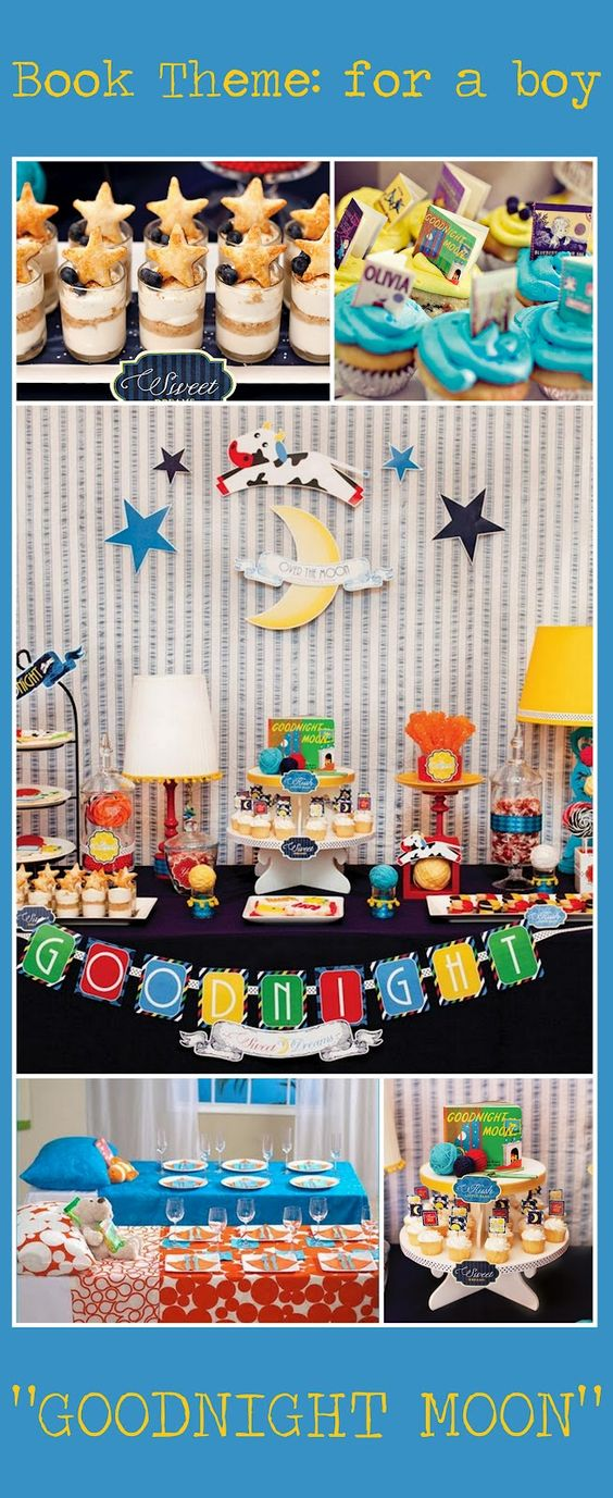 Book theme baby shower.