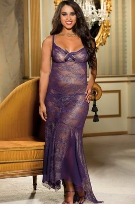 Plus gowns Erotic size