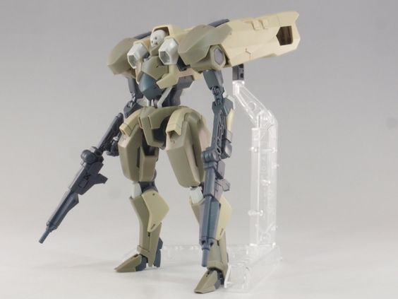 HG 1/144 百里 (機動戦士ガンダム鉄血のオルフェンズ)レビュー | KenBill Blog