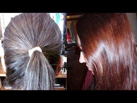 5 دقائق ويختفى الشيب بلا صبغات بلا حناء بلا مواد كيماوية والنتيجة مذهلة Youtube Coffee Hair Long Hair Styles Beauty