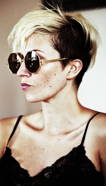 casual haircuts two tone undercut hairstyle 9698