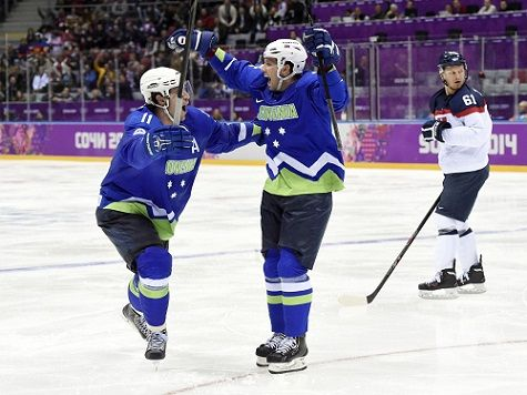 'This is like a gold medal for us': Slovenia wins its first Olympic game