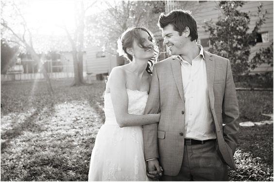 Bride & Groom © Elizabeth Jayne http://ejayne.com #Austin #Texas #Wedding #Bride #Groom #Portrait