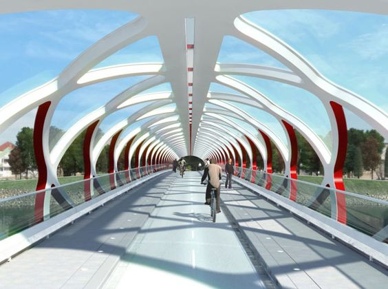 Trinity Brücke von Calatrava