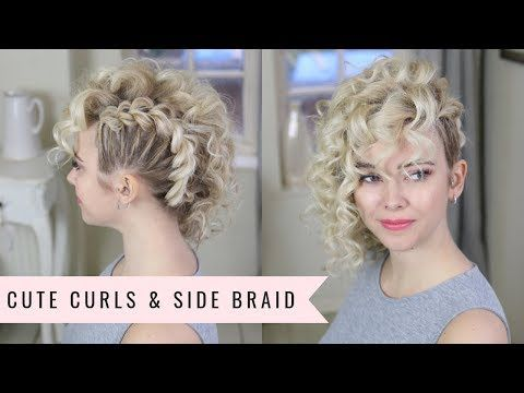 Punk 80 S Inspired Side Braid By Sweethearts Hair Youtube Braided Hairstyles Updo Braided Hairstyles Braids For Short Hair