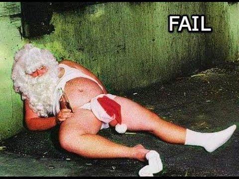 Santa Fails - Funny Christmas Fails - Epic Christmas Fails