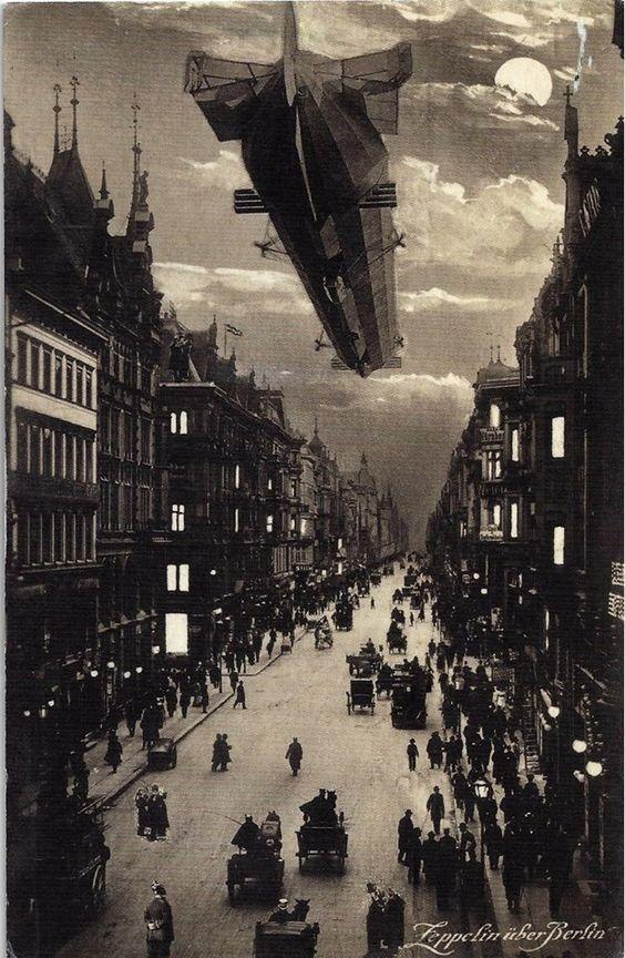 Zeppelin over Berlin postcard. https://www.google.co.uk/search?q=Zeppelin+over+Berlin+postcard.&biw=1366&bih=622&source=lnms&tbm=isch&sa=X&ei=4SfjVLLtHeXN7QaEhYHoDg&ved=0CAYQ_AUoAQ