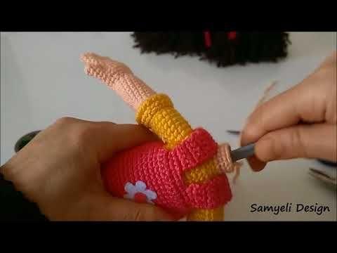 Amigurumi karnaval bebek ( ayak,bacak) yapımı 3/6 - YouTube   360x480