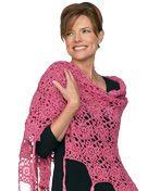 Summer Shawl free crochet pattern