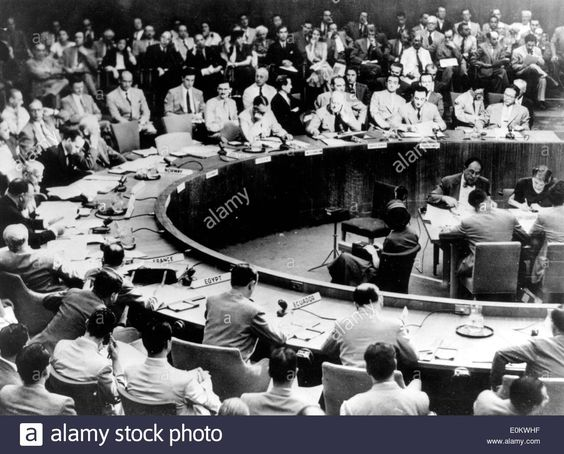 United Nations Security Council General Assembly during the Korean War