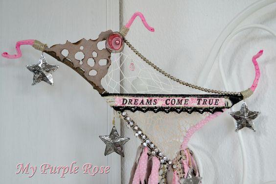 Traumfänger, Dreamcatcher von My Purple Rose auf DaWanda.com