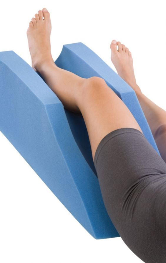 Elevation of your leg is really important to decrease ...