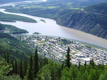 Dawson City Yukon City Profile Yukon Canada Travel