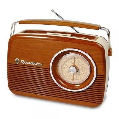 Radio portable vintage Roadstar- Néo-Rétro