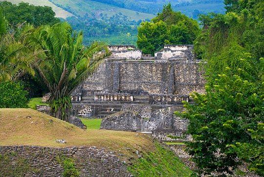 Xunantunich (Stone Lady) Mayan ruins in Belize. Fantastic site!