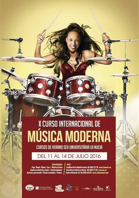 X curso internacional de musica moderna, universidad de la nucia, alicante. http://promocionmusical.es/:
