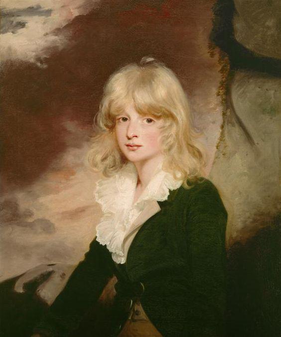 Portrait by John Hoppner (1758 - 1810) Portrait of John Granville 1790s: