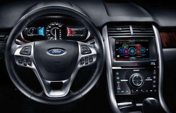 12 Ford Edge Dash Jpg 1200 774 Ford Edge Ford Explorer Ford Edge Sport