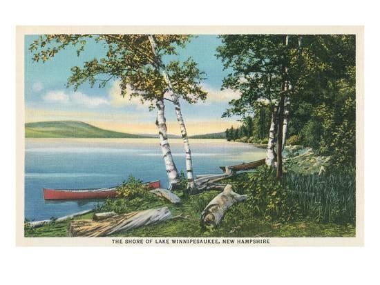 Lake Winnipesaukee New Hampshire Print Allposters Com Winnipesaukee Lake Winnipesaukee Beach Landscape