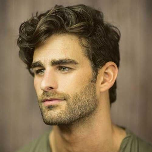 50 Smooth Wavy Hairstyles For Men Men Hairstyles World Mens Hairstyles Thick Hair Wavy Hair Men Mens Hairstyles Medium