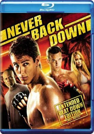 Never Back Down 2008 Bluray 300mb Hindi Dual Audio 480p Never Back Down Good Movies Blu Ray Discs