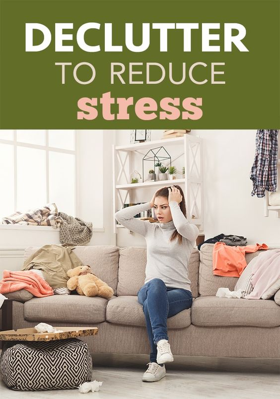 Decluttering for Stress and Anxiety - Five Spot Green Living