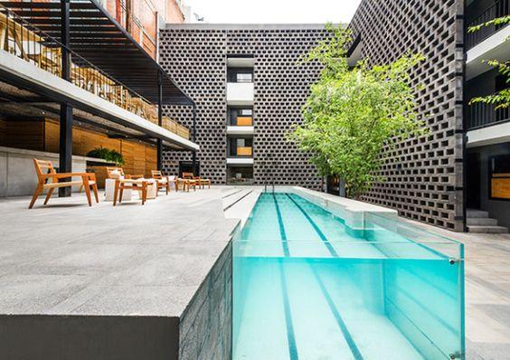 Carlota en el D.F, un #hotel de diseño combinado con la #estética de barrio. #Hogaressauce.
