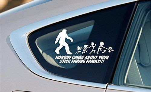 Best Sticker Ideas For Car Images On Pinterest Nobody Cares - Family car sticker decalsbest silhouette for the car images on pinterest family car