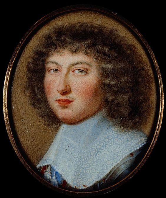 Louis XIV, roi de France, vers 1655, par Petitot
