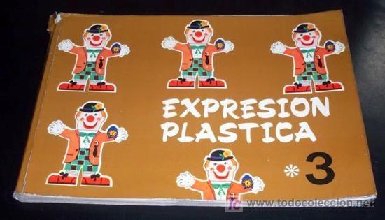 EXPRESIÓN PLÁSTICA / EGB / Ediciones S.M. - 1973 -