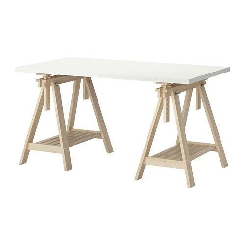 Ikea Linnmon Finnvard Table White