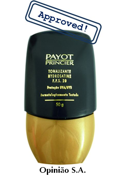 Payot – Tonalizante Hydrosatine FPS 20  http://www.opiniaosa.com.br/2012/05/04/payot-tonalizante-hydrosatine-fps-20/