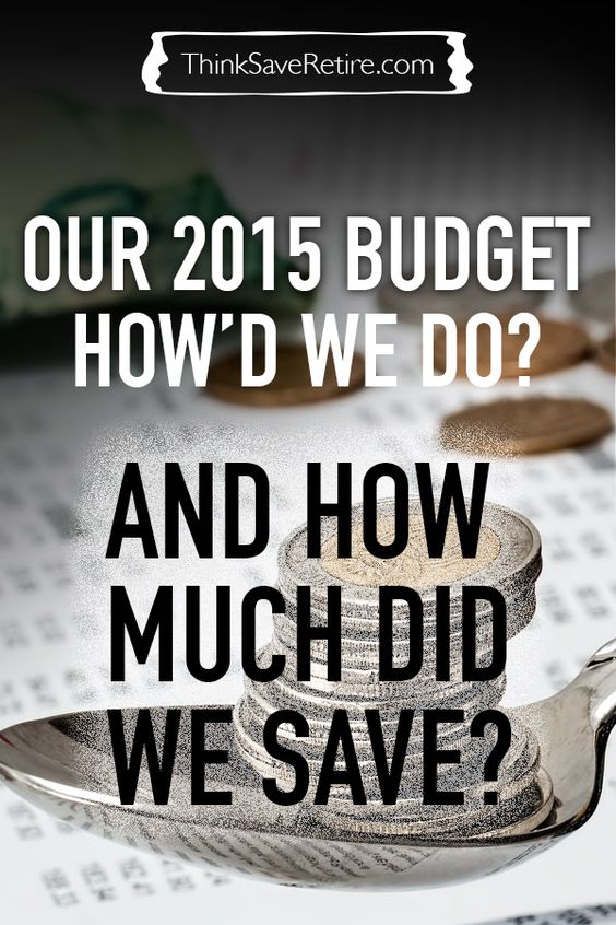 Lots of tips and tricks for budgeting and saving money!  It can be hard to figure out a budget. It's a process of trial and error and it really helps to see how someone else does it.   This is one couple's 2015 Budget. What were their categories? How much did it help them save over the year?