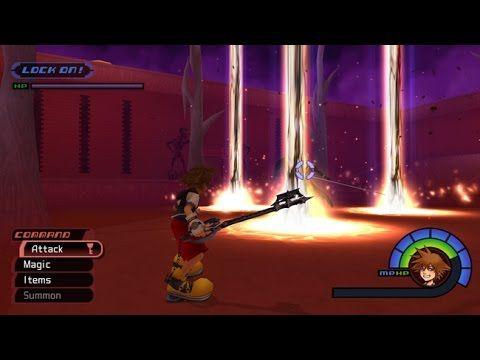Kh 1 5 Proud Mode Platinum Match Secret Boss Vs Sephiroth Kingdom Hearts Kingdom Hearts Hd Sephiroth