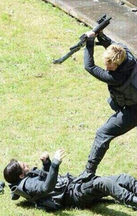 Mockingjay behind the scenes