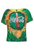 OCA COLA CLOTHING Camiseta Coca-Cola Clothing Comfort Garrafa Amarela