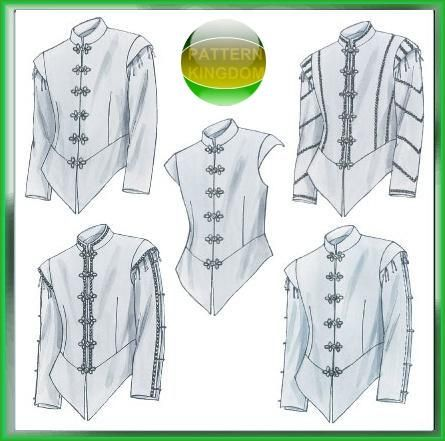 doublet patterns and mens tops on