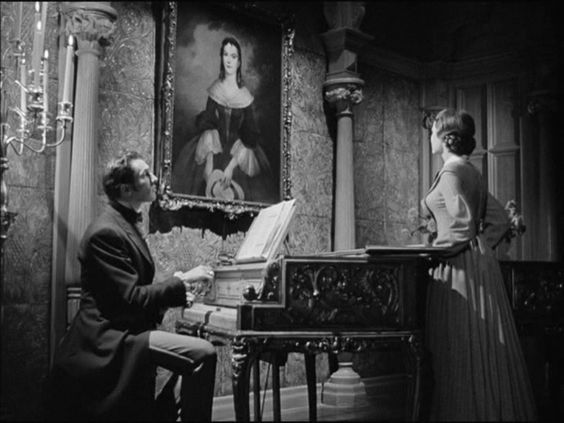 A guide to the painted portraits in noir and gothic films of the forties and fifties: Portrait of Azeals Van Ryn, Dragonwyck (Joseph L. Mankiewicz, Twentieth Century Fox, 1946).